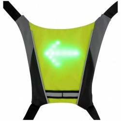 Gilet signalétique LED +...